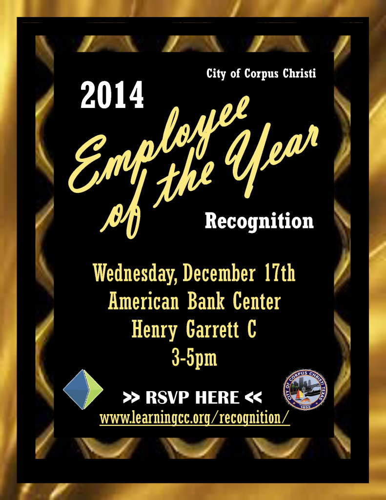 2014 Employee of the Year Flyer