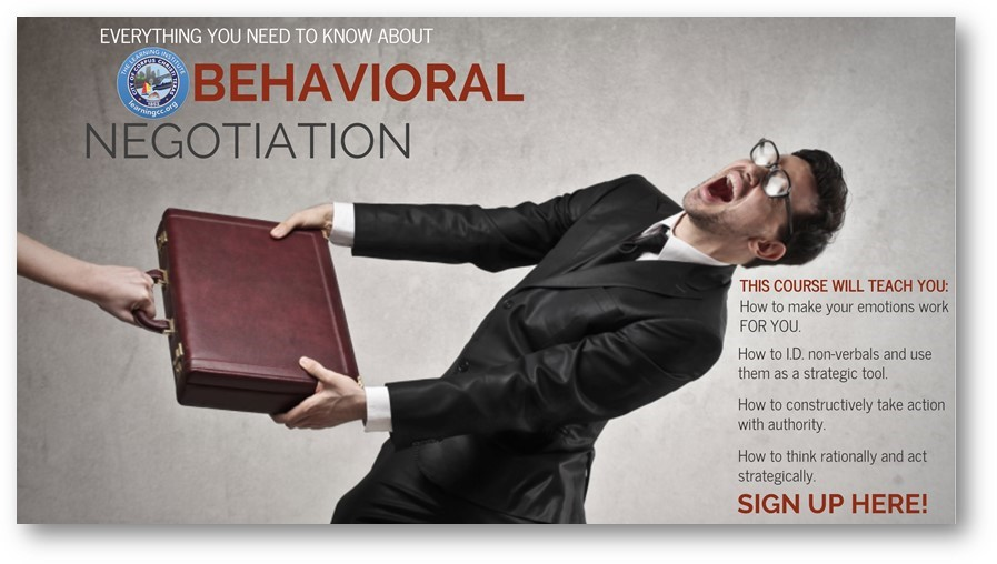 Behavioral Negotiation